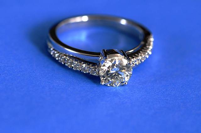 Diamond on Blue
