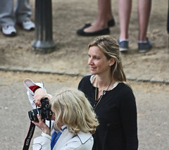 The Royal Wedding - Apr 2011 - Candid Mother & Daughter