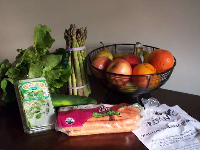 our first boston organics delivery