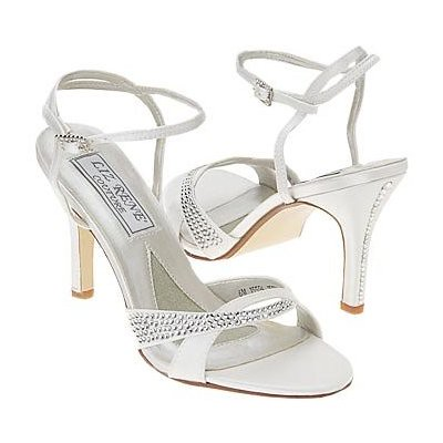 Dyeable Shoes  Weddings on Liz Rene Couture Women   S Holly Dyeable Sandal   Flickr   Photo