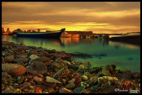 sunset sea sky beach marina boat libya tripoli libyen líbia libië libiya liviya libija либия vosplusbellesphotos fabbow gergaresh ливия լիբիա ลิเบีย lībija либија lìbǐyà libja líbya liibüa livýi λιβύη לוב
