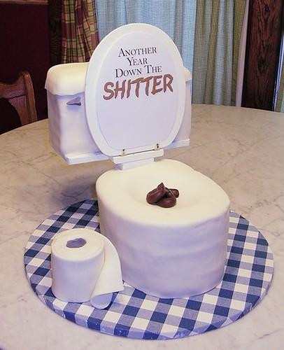 Happy Birthday Potty Cake