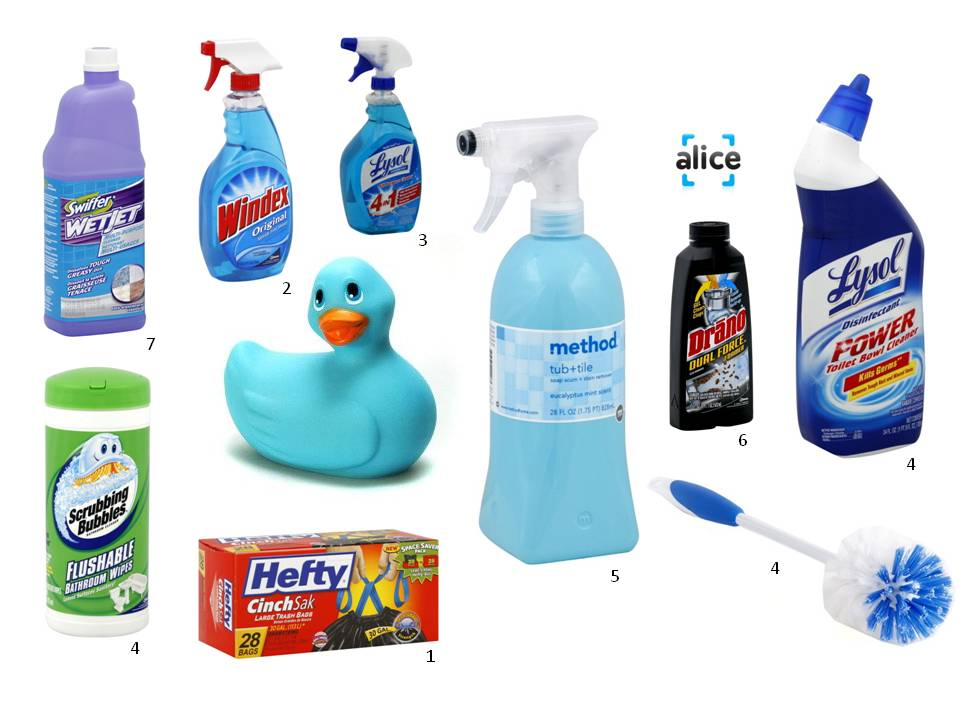 Bathroom cleaning products 28 images earth friendly for Bathroom cleaning supplies list