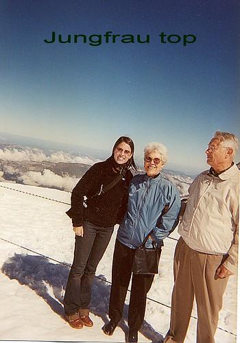 Jungfrau top