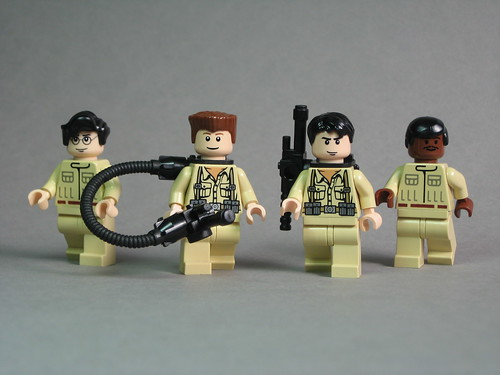 Ghostbusters with BrickForge Particle Gun & Pack