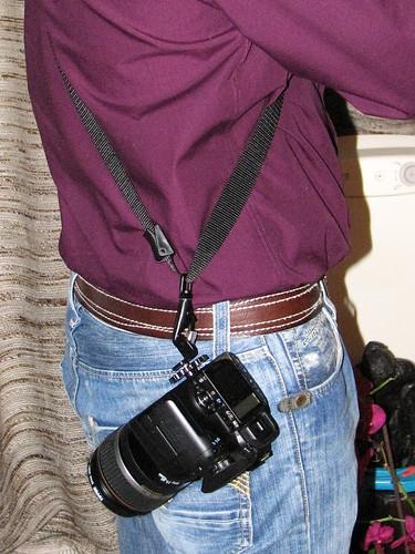 Schoudertasje Camera : Blackrapid r strap rs style over substance