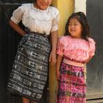 Guatemalan Indigenous Girls - San Pedro Sacatepequez, Guatemala