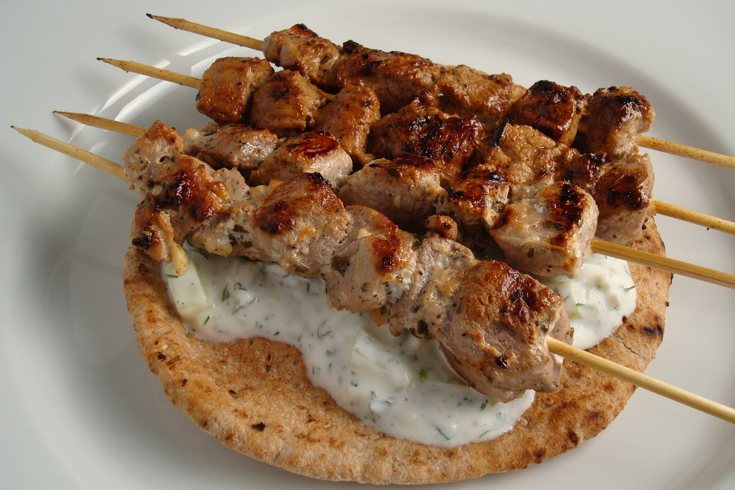 Pork Souvlaki | Flickr - Photo Sharing!