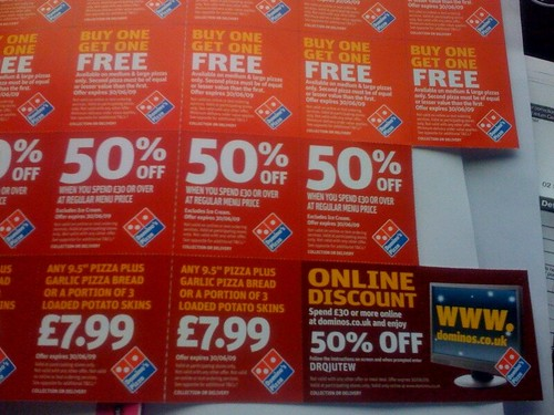 Domino's Pizza is the UK's largest and most popular pizza delivery service with over stores nationwide. The company regularly publishes online vouchers and promotional codes, offering customers the chance to save money.