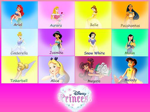 Disney Princess Names Princesses Disney Names