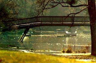 1972 - Brücke zur Reisinsel über den Bellenkrabben