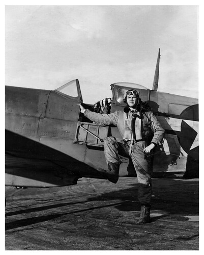 American Spitfire Pilot World War II