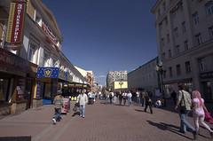 Walk through the craftsman passage of the Old Arbat Street - Things to do in Moscow
