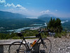 Views from lower slopes of Col du Grand Colombier