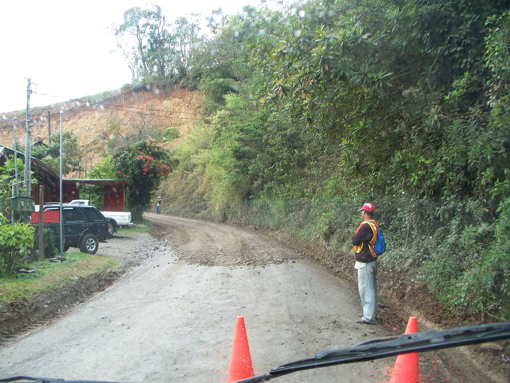 Road Work - Monteverde,  Costa Rica