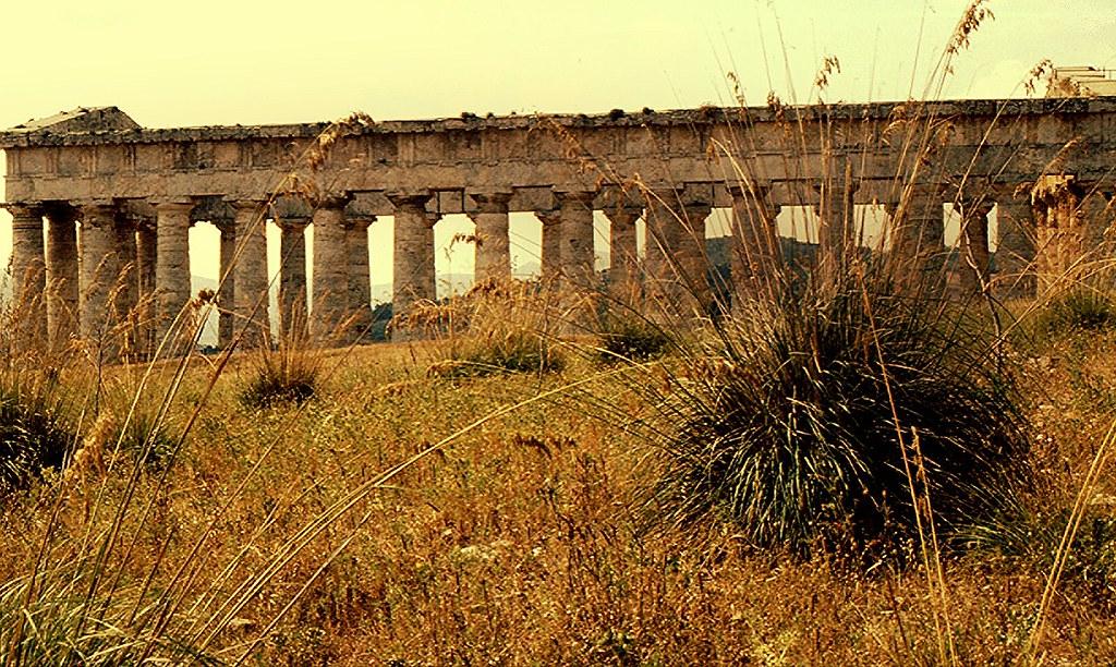 Sizilien - Segesta-Tempel 400 v.Chr.