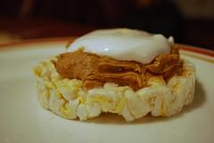 Rice Cake Fluffernutter