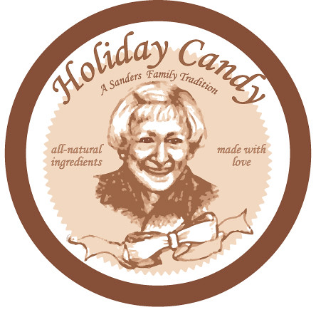 grandma's candy jar label