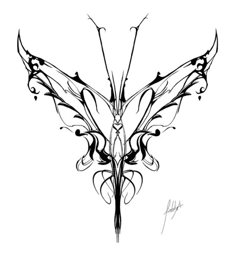 tribal vector butterfly tattoos butterfly beautiful pictures. Black Bedroom Furniture Sets. Home Design Ideas