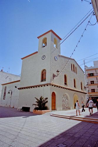 "Parish Church of the ""Mare de Déu dels Desemparats"", Moraira, Spain"