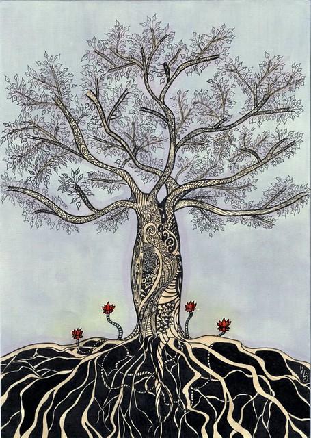 BARRIGUDA - (Cavanillesia arborea)    FINALIZADA! =]