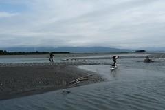 Lining the kayaks