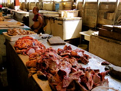 charcuterie, seafood, meat, food, butcher,