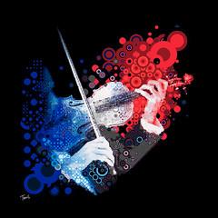 Festival do Jordao 2009: The violin player