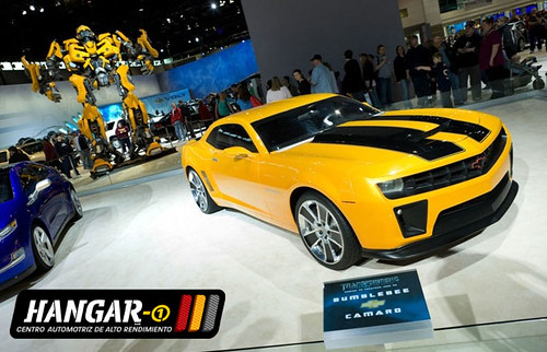 Transformers-Chevrolet-camaro--bumble-bee-Hangar-1