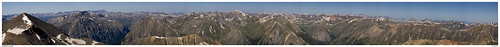 panorama sunrise san colorado juan hike summit 14er redcloud