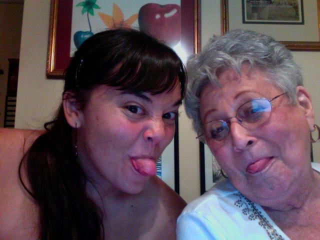 me and grandmaw