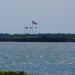 Fort Sumpter as Seen from Fort Moultrie, Charleston, South Carolina