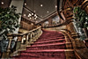 Cornhusker Hotel, grand staircase - HDR by Robert Wurth (Zuiun) - Studio Orange Photography