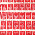 Five cent U.S. stamp sheet - Poland Millenium 966 to 1966
