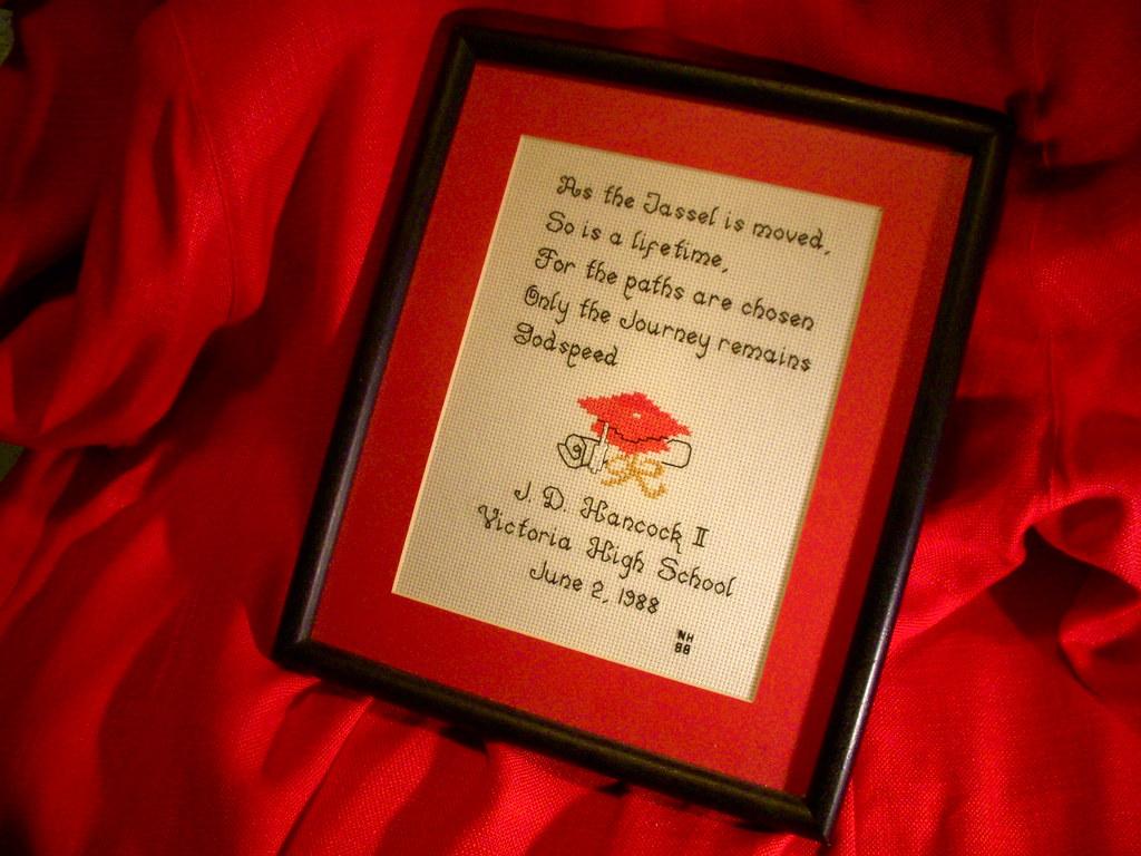 1988 Graduation Poem