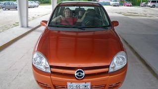 our rental car