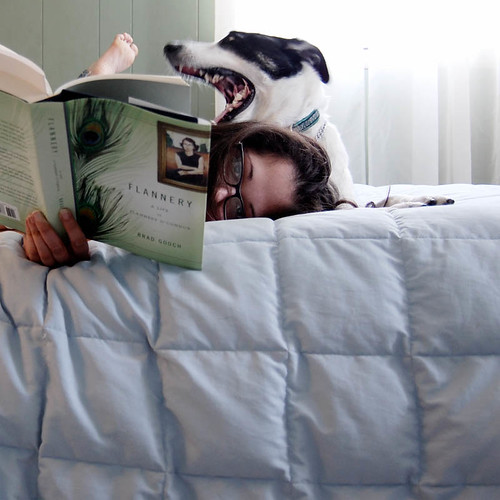 """Outside of a dog, a book is probably man's best friend, and inside of a dog, it's too dark to read."" -- Groucho Marx"