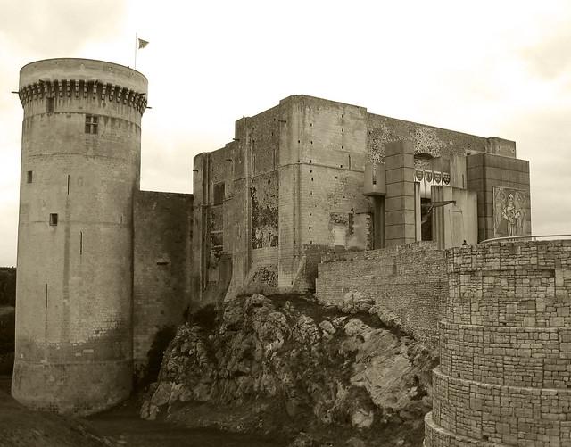 Falaise - The château