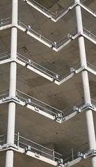 wall, handrail, metal, line, iron, facade,