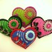 HEART FELT BROOCHES FOR MOTHERS DAY!