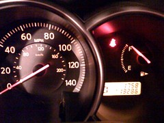 automobile, odometer, vehicle, gauge, speedometer,