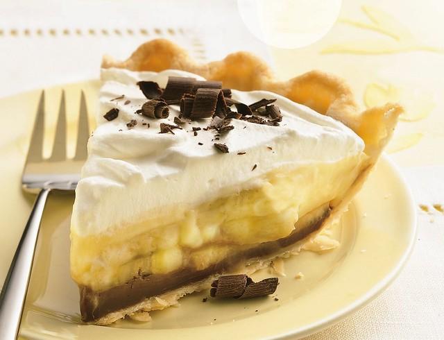 Black Bottom Banana Cream Pie Recipe | Flickr - Photo Sharing!