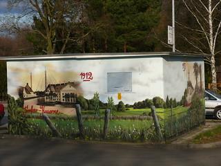 Trafohaus zwischen KW und Wildau