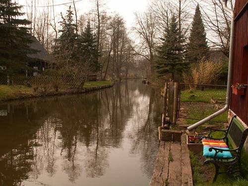 Spree im Spreewald in der Lausitz