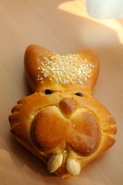 Easter bunny bread | Flickr - Photo Sharing!
