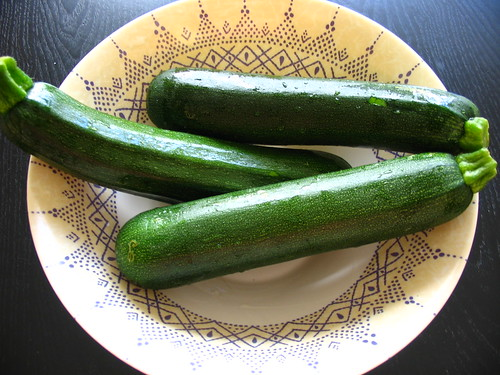 Courgettes, calabacines