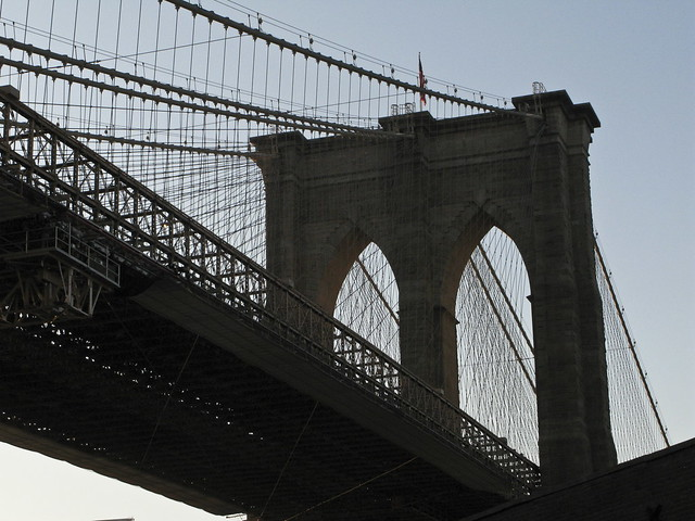New york autour du pont de brooklyn new york city around the brooklyn bri - Toile pont de brooklyn ...