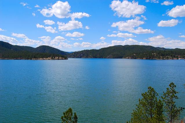 Black hills pactola lake flickr photo sharing for Pactola lake cabins