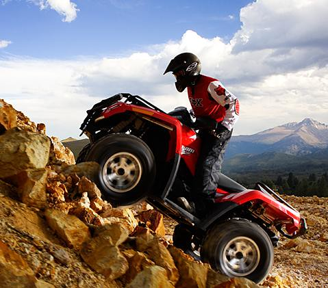 Canam ATV  Monster Fuel Injection