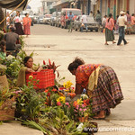 Flower Street Stand - Coban, Guatemala